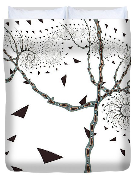 Day Tree Duvet Cover
