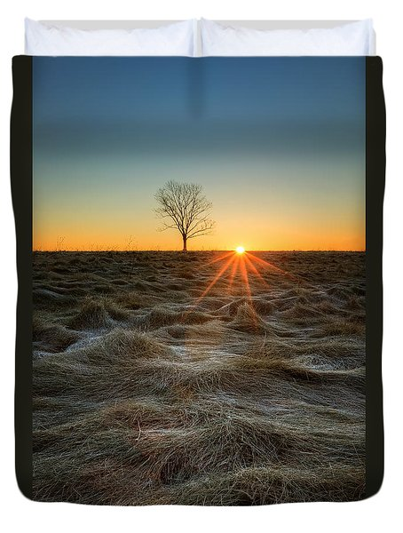 Daybreak Duvet Cover by Bill Wakeley