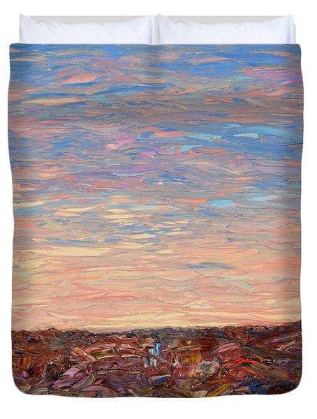 Daybreak Duvet Cover by James W Johnson