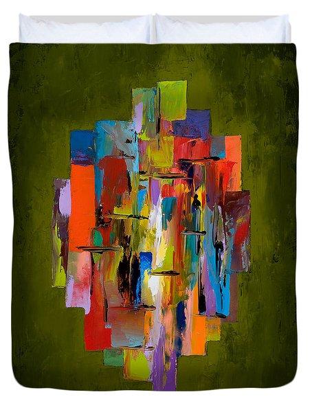 Daybreak Duvet Cover by Larry Martin