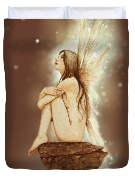 Daydreaming Faerie Duvet Cover