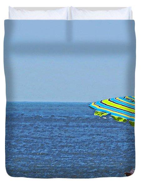 Daytime Relaxation Duvet Cover