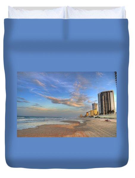 Daytona Beach Shores Duvet Cover