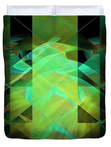 Dazzle Dunes Duvet Cover by Elizabeth McTaggart