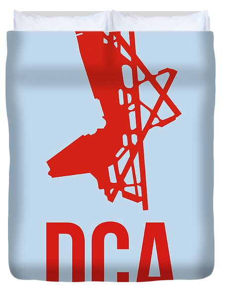 Dca Washington Airport Poster 2 Duvet Cover