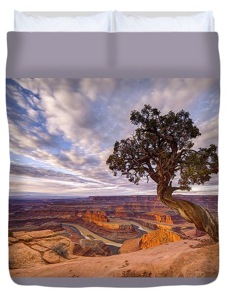 Dead Horse Point Sunrise Duvet Cover