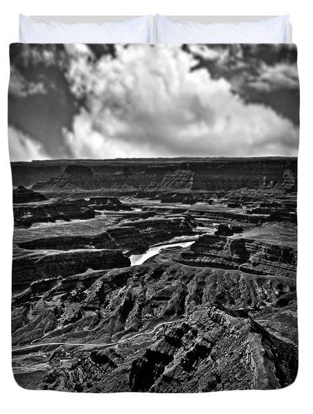 Dead Horse Point Utah Duvet Cover by Bob and Nadine Johnston