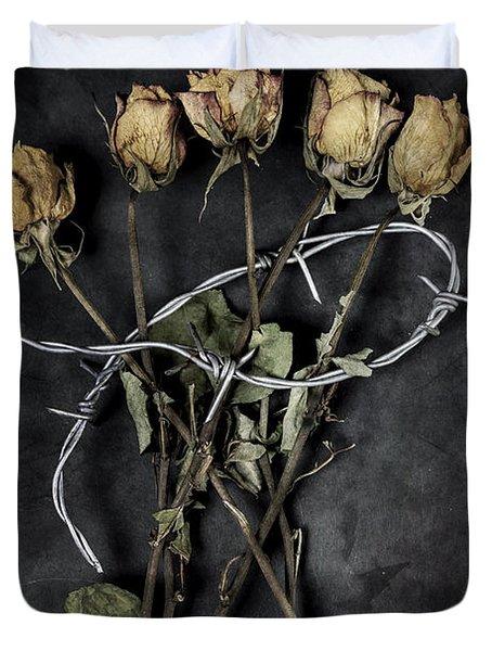 Dead Roses Duvet Cover by Joana Kruse