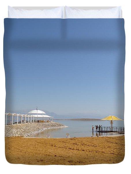Dead Sea 1 Duvet Cover