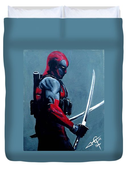 Deadpool Duvet Cover