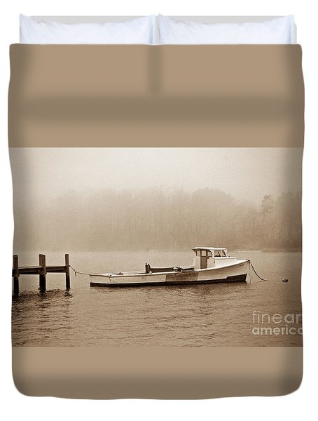 Deadrise Waiting Duvet Cover