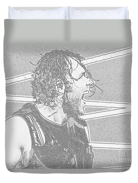 Dean Ambrose Duvet Cover by Paul  Wilford