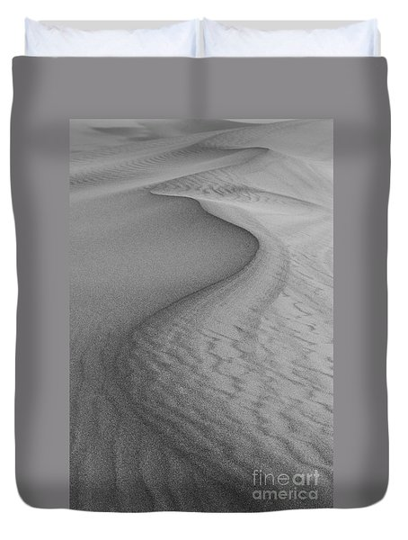 Death Valley Sand Dunes Duvet Cover