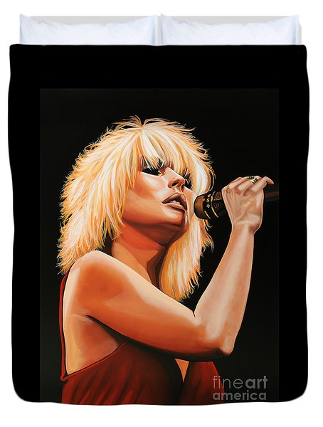 Deborah Harry Or Blondie 2 Duvet Cover