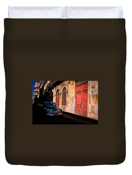 Decaying Beauty  Duvet Cover by Cecil K Brissette