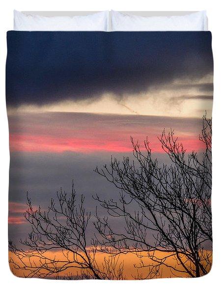 December County Clare Sunrise Duvet Cover