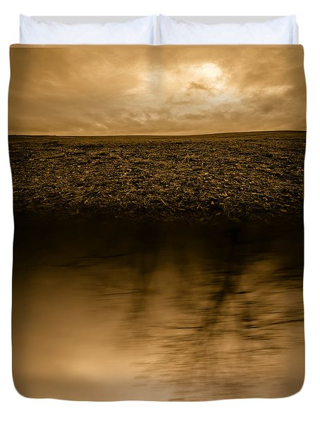 December Sky Duvet Cover by Bob Orsillo