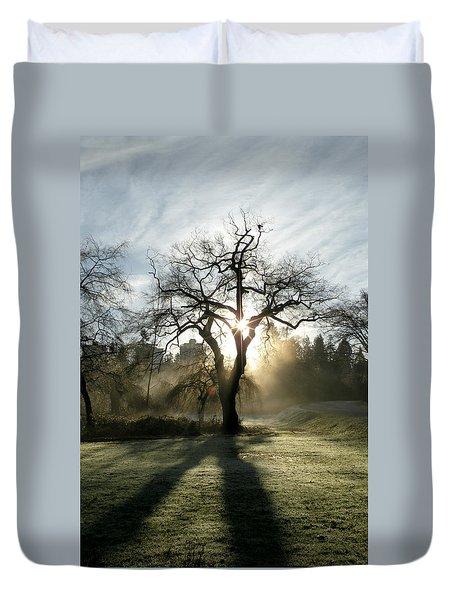 December Sun Duvet Cover