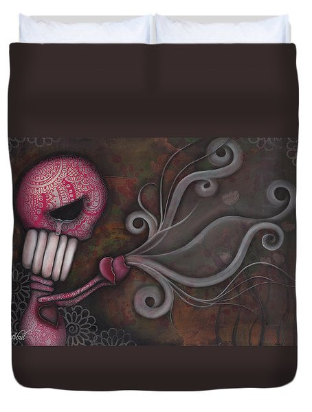 Deception Duvet Cover by Abril Andrade Griffith