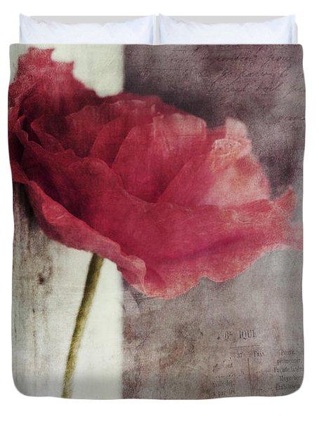 Decor Poppy Duvet Cover by Priska Wettstein