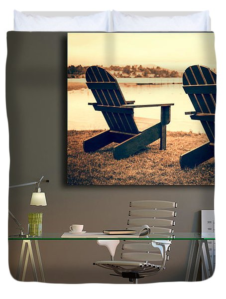 Decorating With Fine Art Photography Duvet Cover by Edward Fielding
