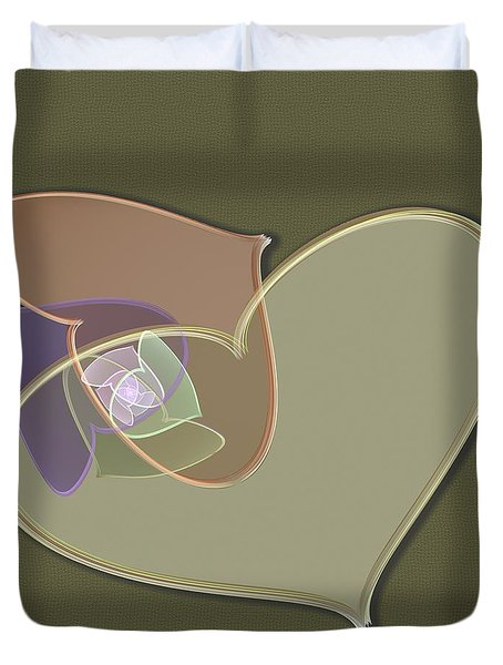 Decorative Heart Duvet Cover by Svetlana Nikolova