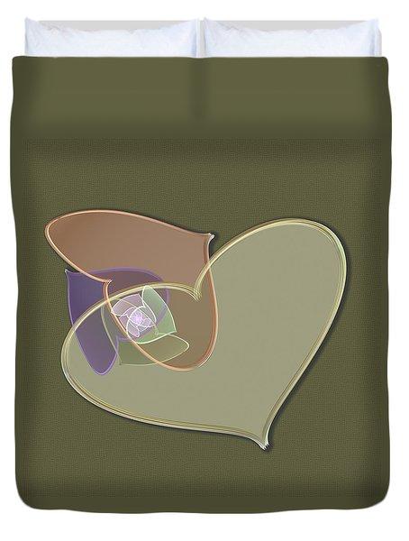 Decorative Heart Duvet Cover