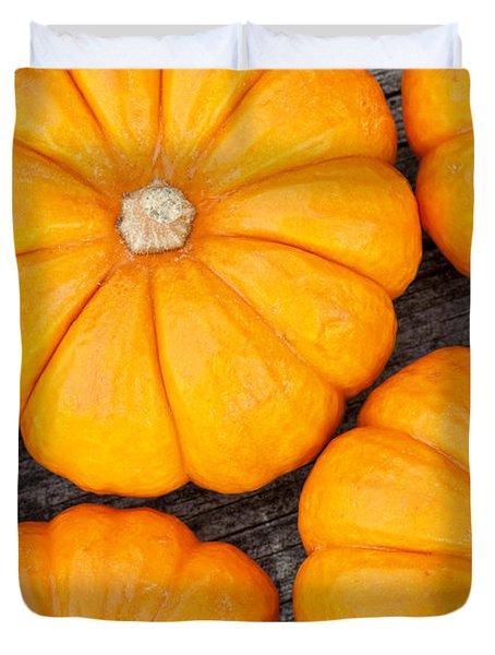 Decorative Pumpkins  Duvet Cover