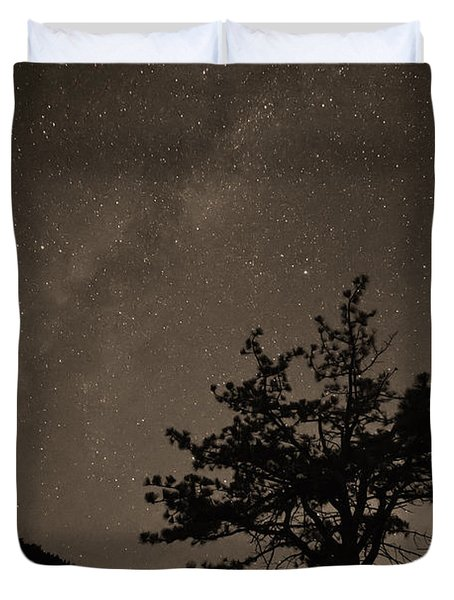 Deep Deep Deep Into The Night  Duvet Cover by James BO  Insogna
