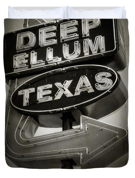 Deep Ellum Duvet Cover