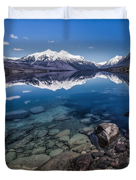 Deep Freeze Duvet Cover