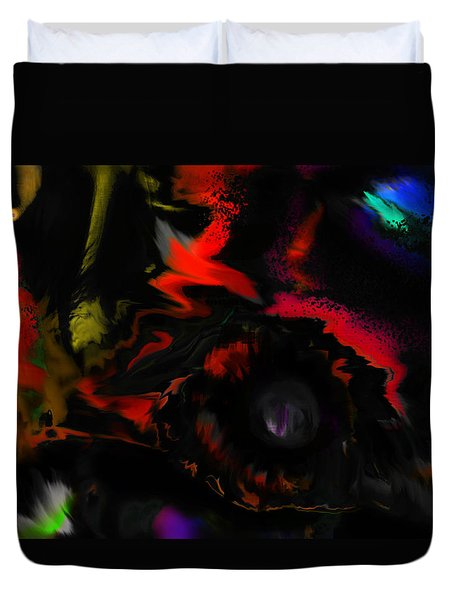 Deep Impact Duvet Cover by Martina  Rathgens