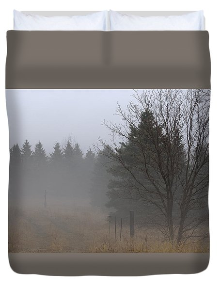 Deep Mysteries Duvet Cover