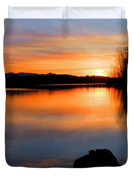 Deepening Light Duvet Cover