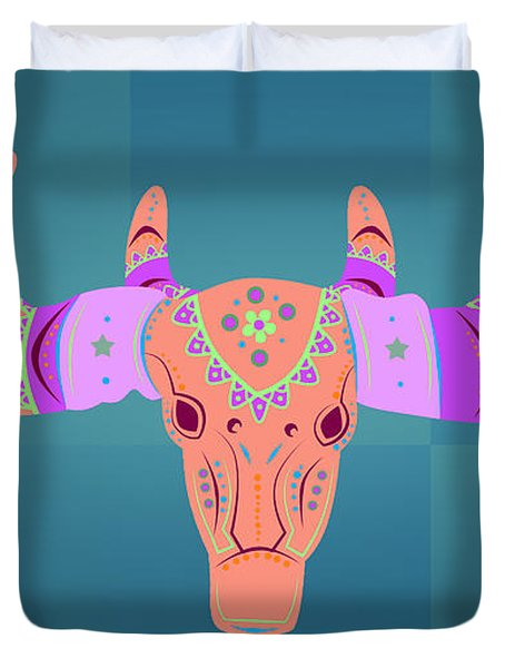Deer 3 Duvet Cover by Mark Ashkenazi