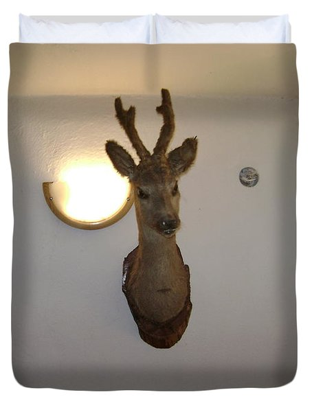 Deer Head Duvet Cover