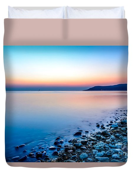 Deganwy North Wales Duvet Cover by Adrian Evans