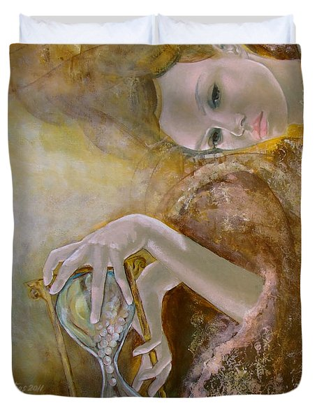 Deja Vu Duvet Cover by Dorina  Costras