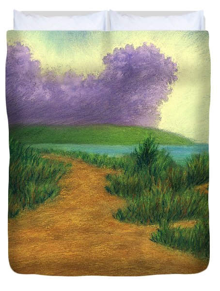 Del Mar Trails 03 Duvet Cover