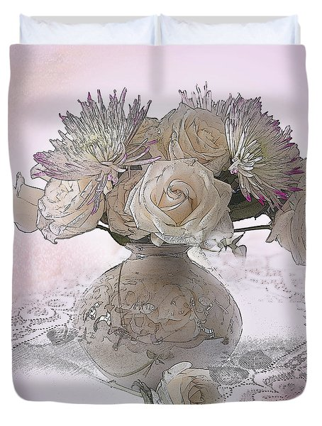 Delicacy Duvet Cover by Betty LaRue