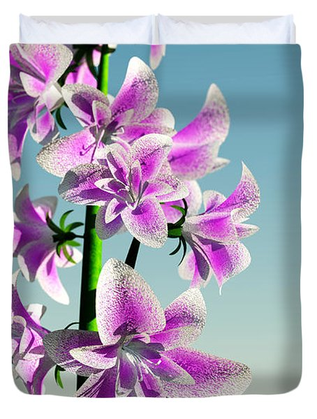 Delicate Flower... Duvet Cover by Tim Fillingim