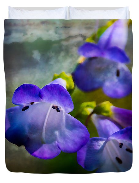 Delicate Garden Beauty Duvet Cover by Mick Anderson