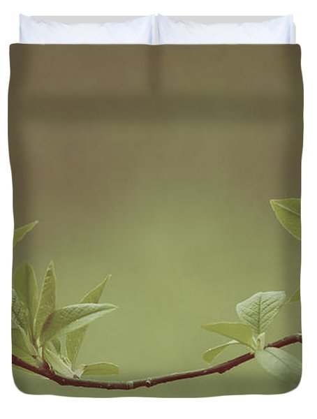 Delicate Leaves Duvet Cover