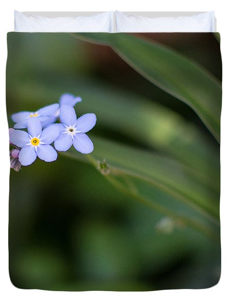 Delicate Duvet Cover by Michele Wright