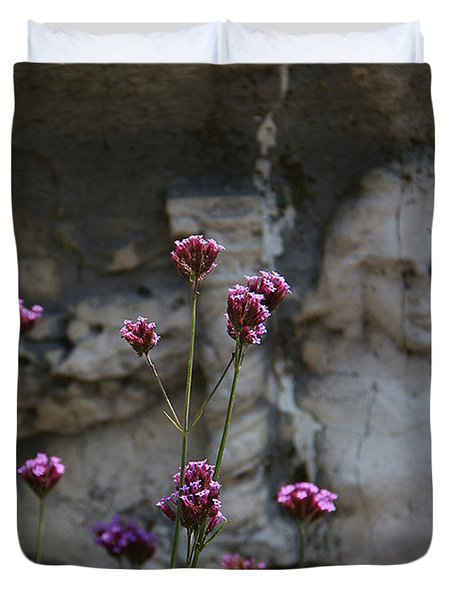 Delicate Pinks Duvet Cover by Yvonne Wright