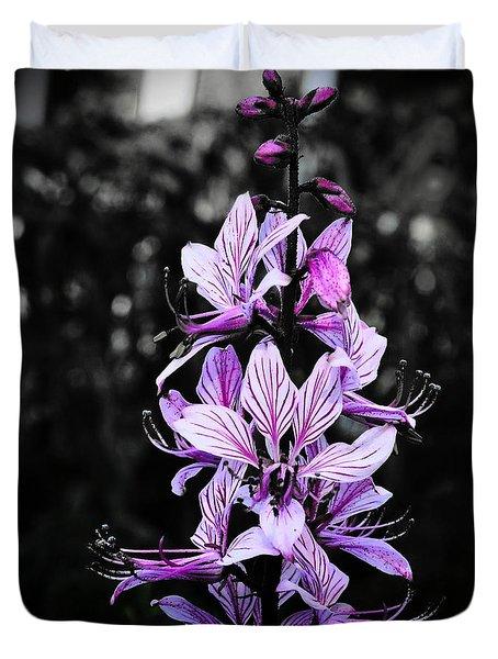 Delicate Violet Duvet Cover
