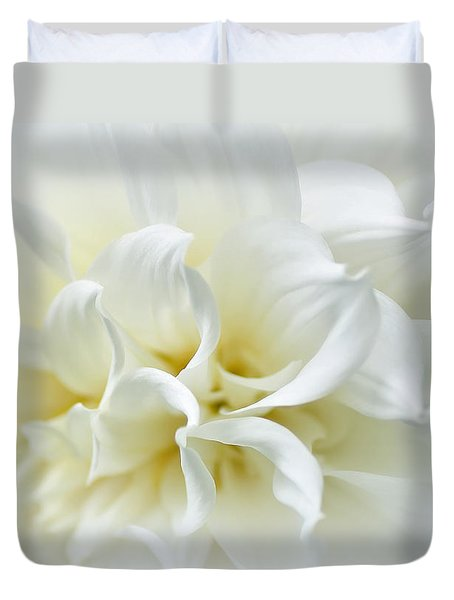 Delicate White Softness Duvet Cover