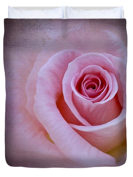 Delicately Pink Duvet Cover by Ivelina G