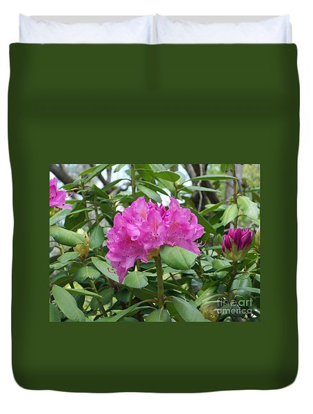 Duvet Cover featuring the photograph Delicate Beauty by Roberta Byram