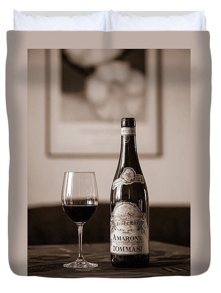 Delicious Amarone Duvet Cover